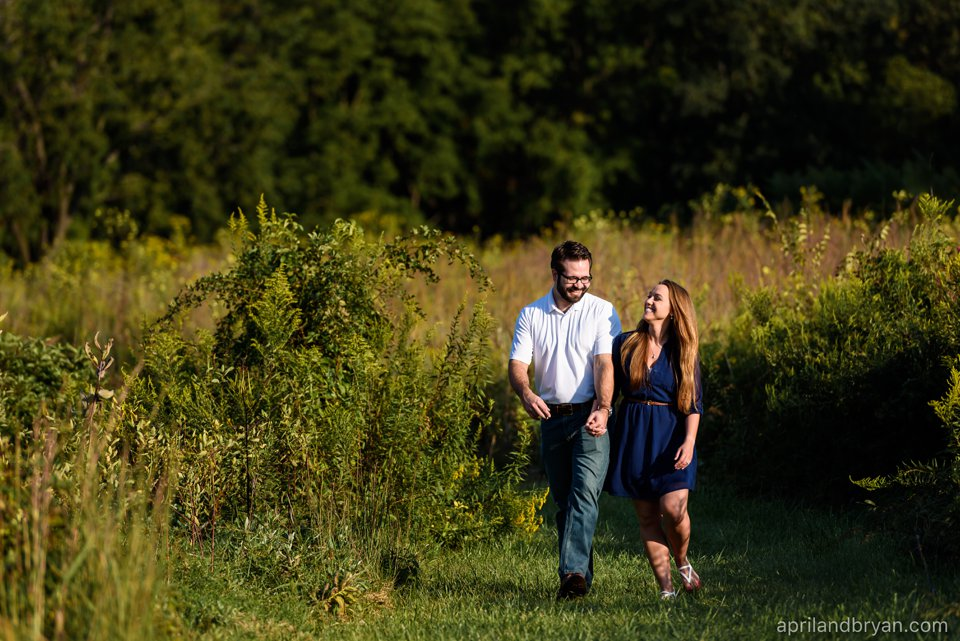 Middle Creek Engagement Photography