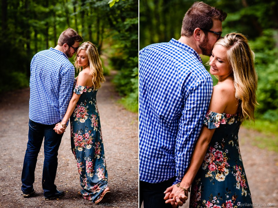 Tyler State Park engagement session