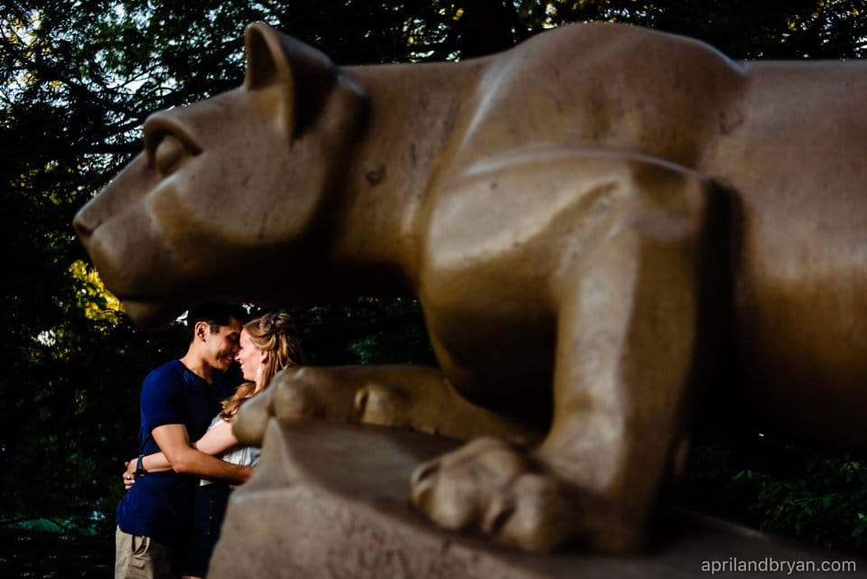 State College Engagement Photographer