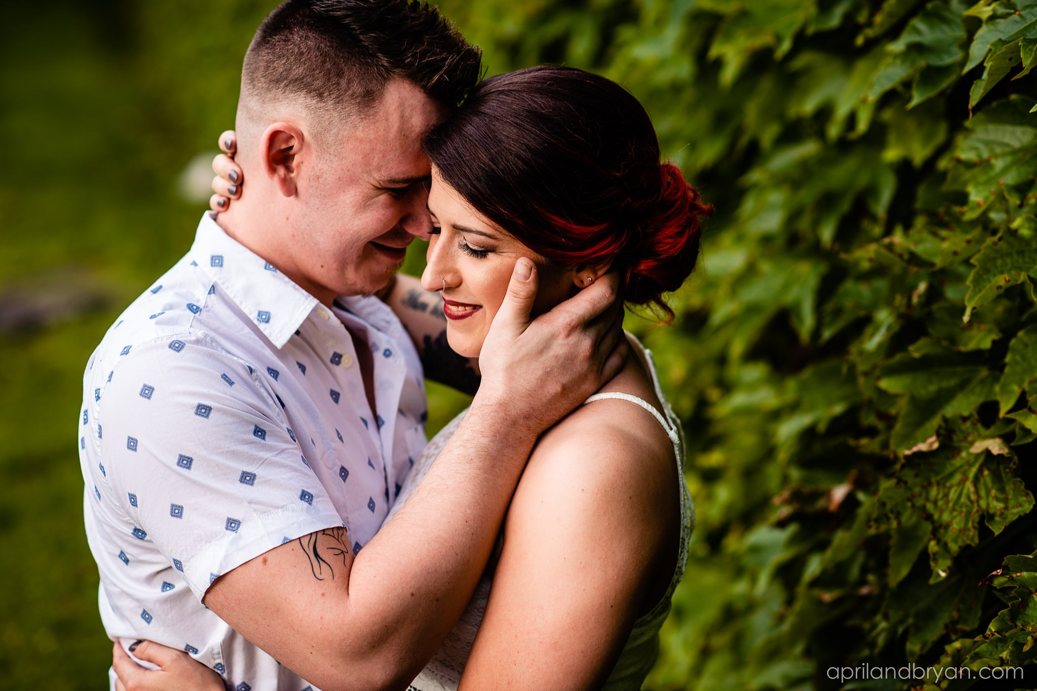 Waterworks Engagement Photographer