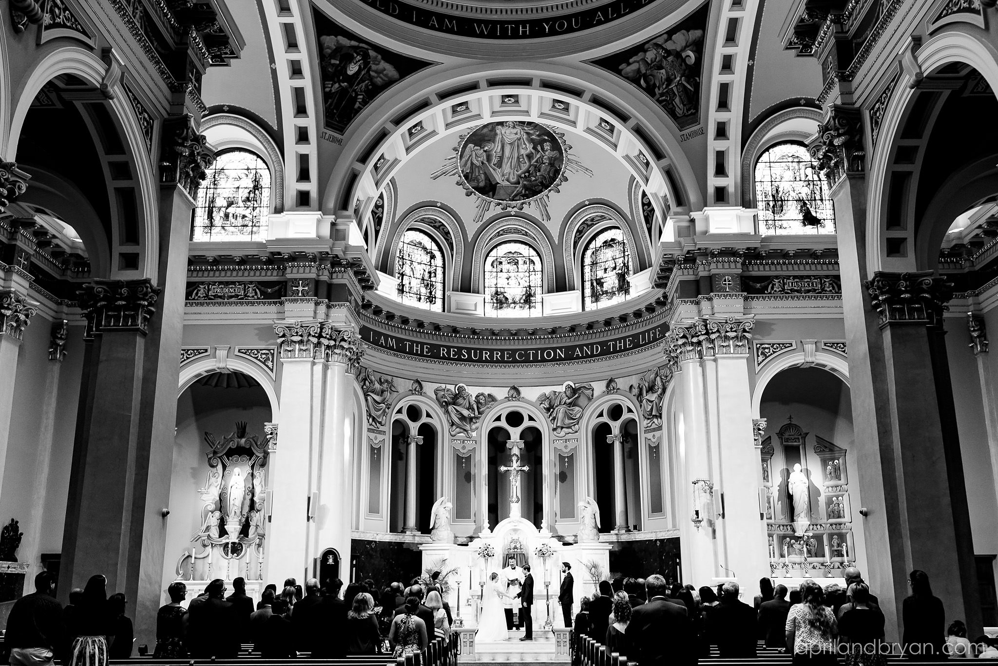 Cathedral of Saint Patrick Wedding Photographer