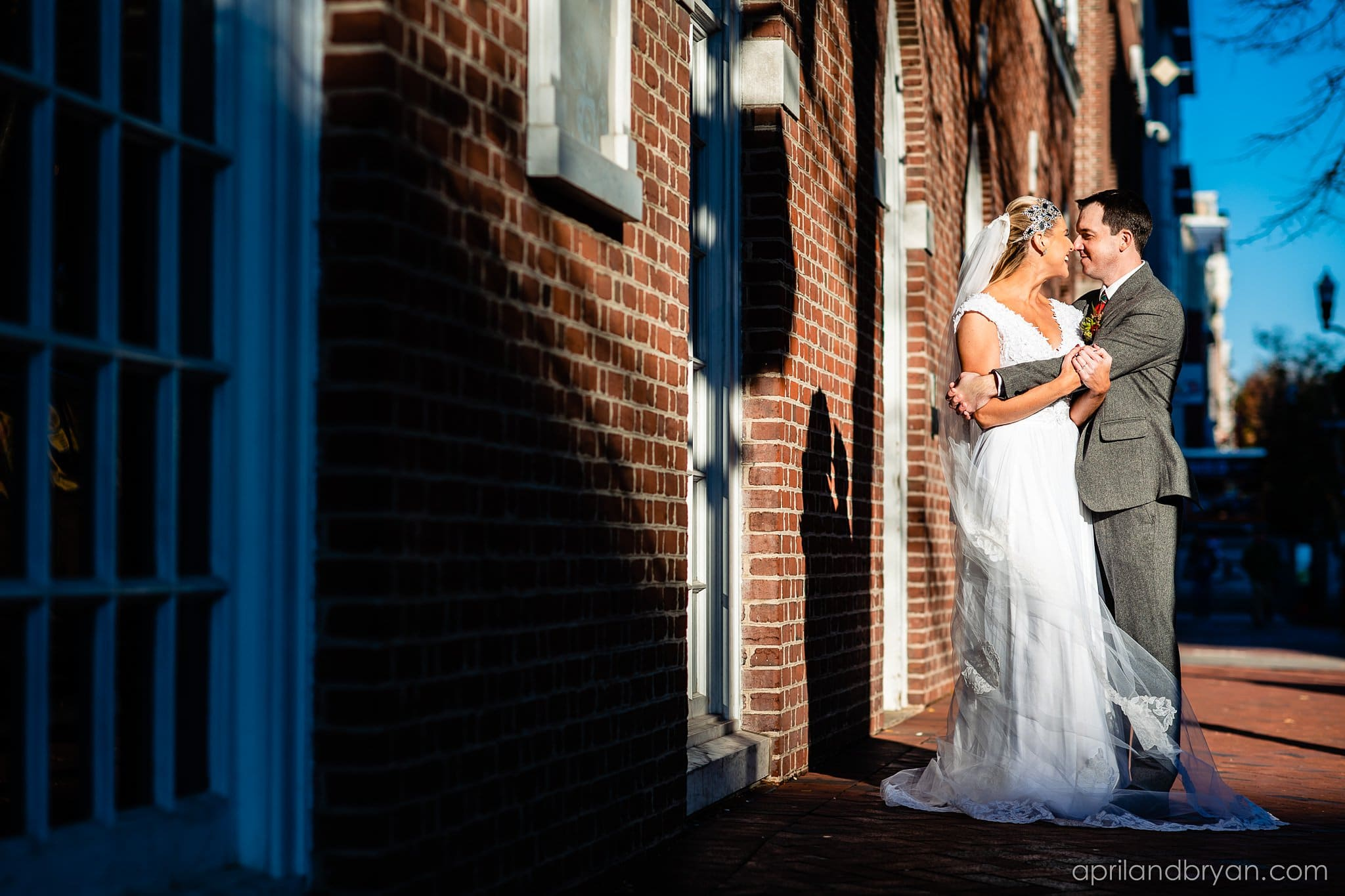 Downtown Lancaster Wedding Photographer