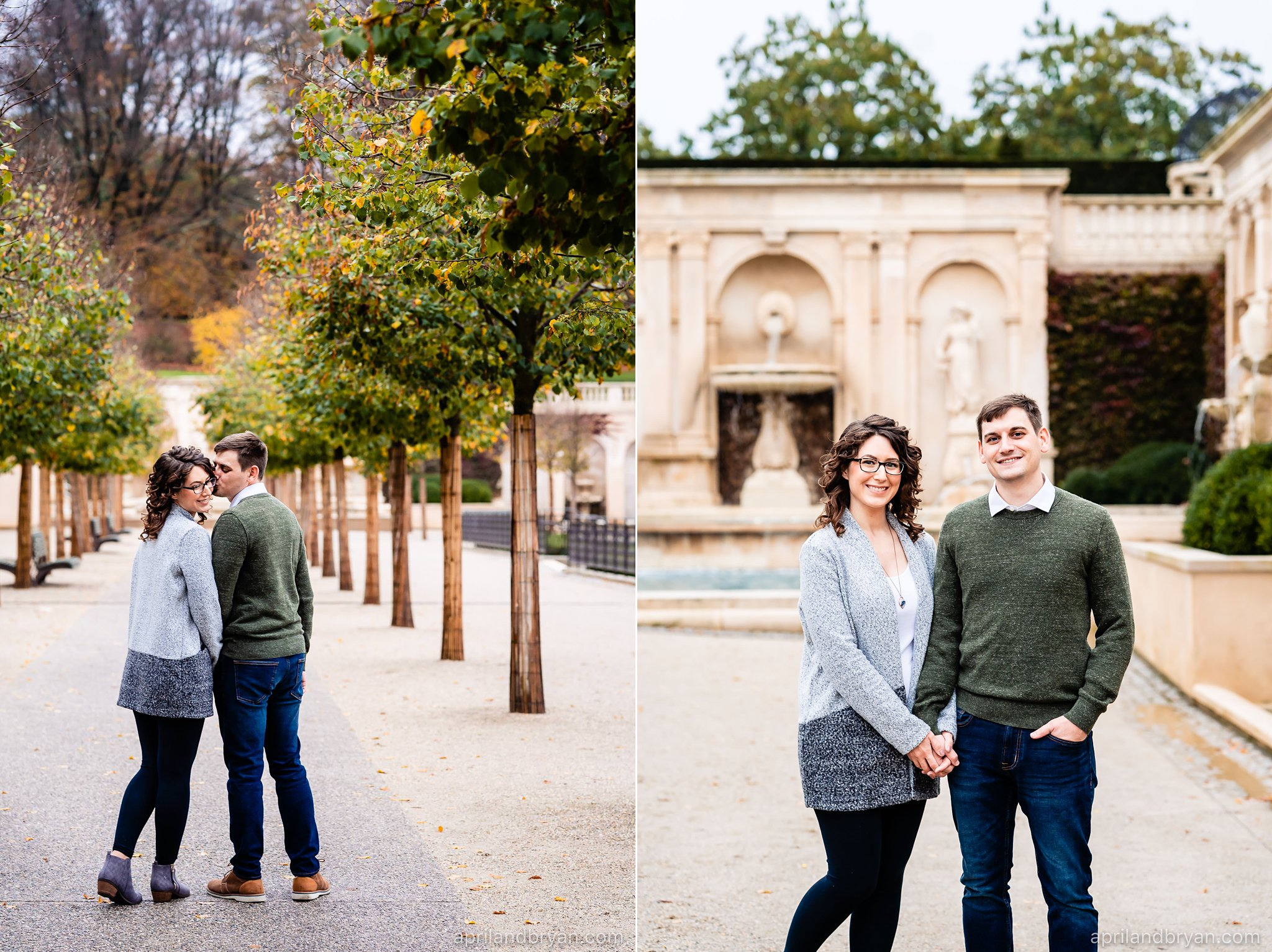 Fall Engagement Photographer